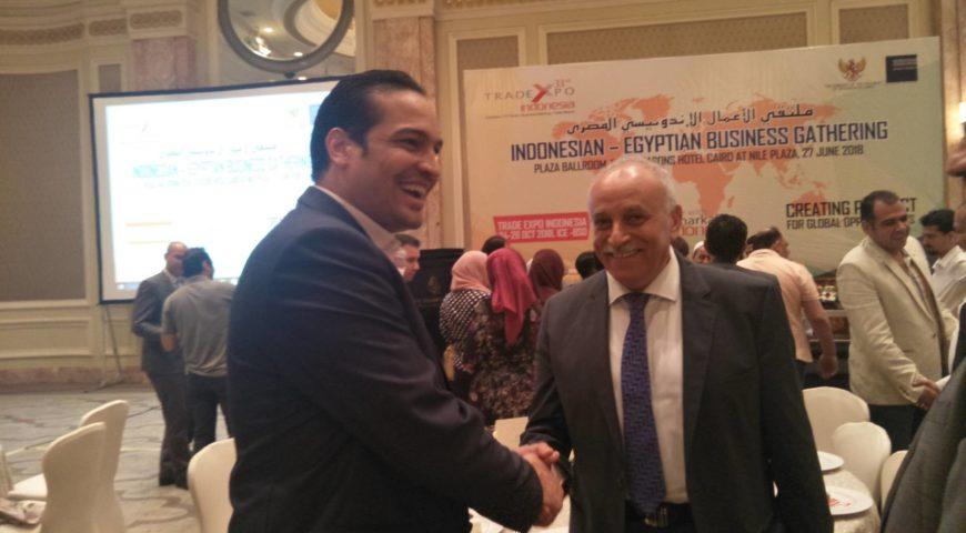 بدعوة خاصة لشركتنا من معالى سفير اندونيسيا بالقاهرة السيد / حلمى فوزى