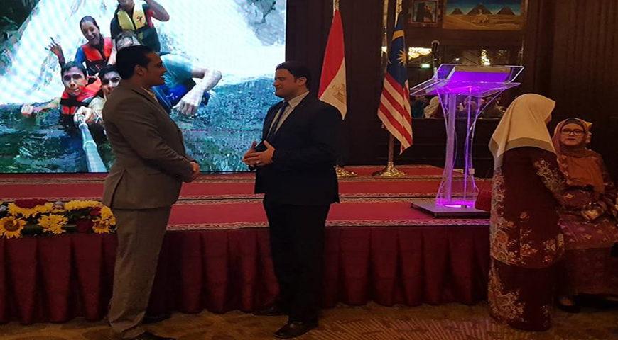 مراسم شركة الناعوتى تشارك احتفالات العيد الوطنى لماليزيا